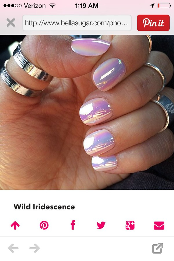 nail polish wild iridesence iridescent