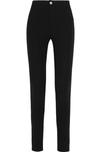 pants skinny pants black