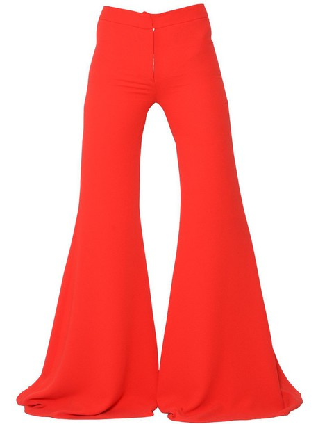 Gareth Pugh pants long red