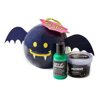 home accessory cosmetics bath bomb shower gel lush halloween cute gift ideas batman face care body care