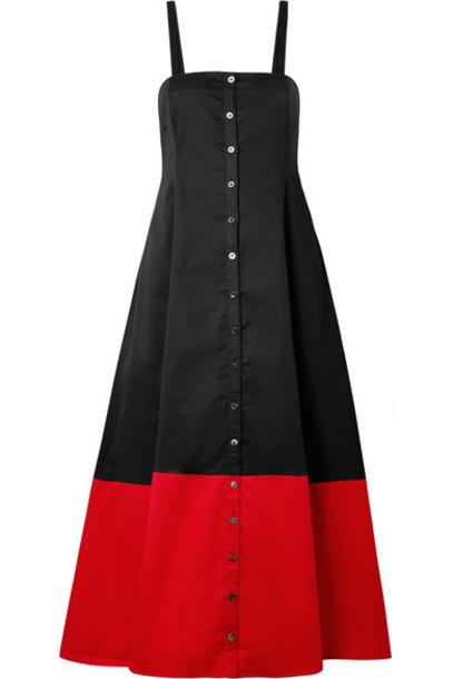 Mara Hoffman dress cotton black