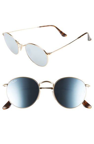 Ray-Ban Icons 50mm Round Sunglasses | Nordstrom