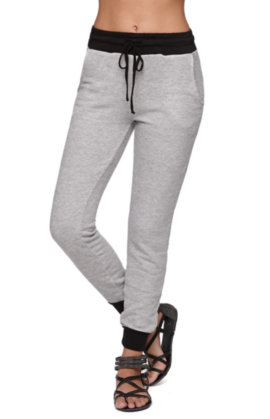 Nollie Solid Gray Jogger Pants at PacSun.com