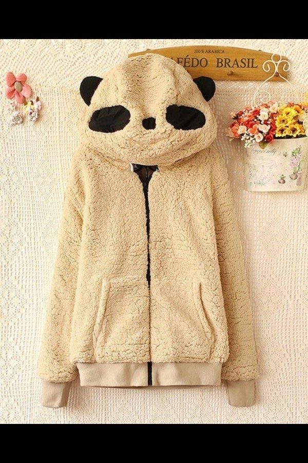 sweater cute panda