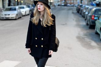 jeans coat hat bag