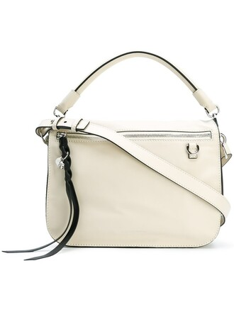 skull women bag shoulder bag white