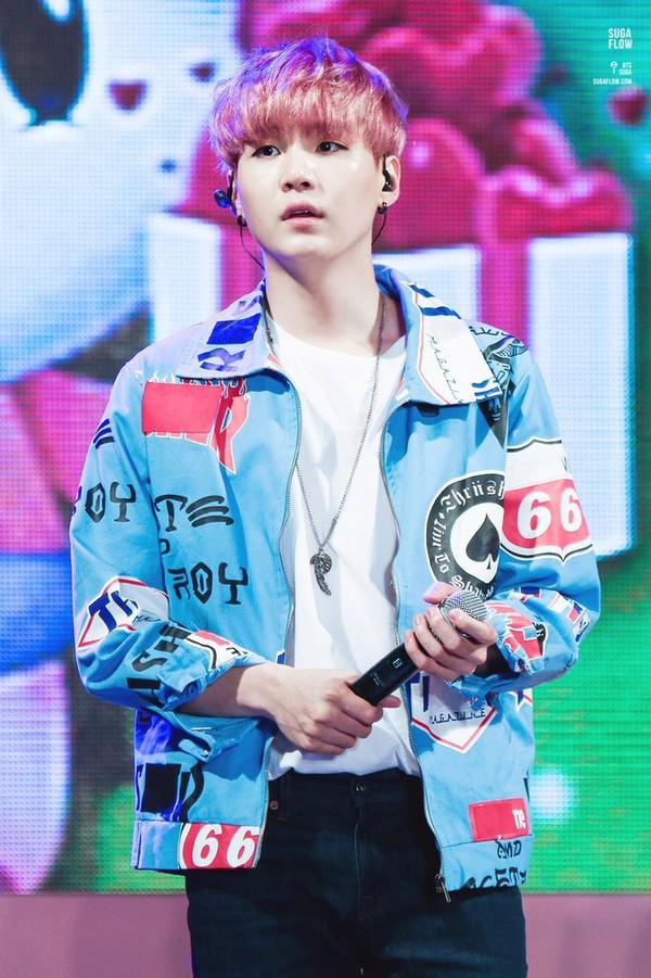 Jacket Kpop Bts Yoongi Clothes Performance K-pop Mens Jacket - Wheretoget