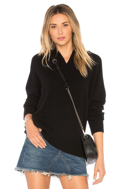 James Perse hoodie black sweater
