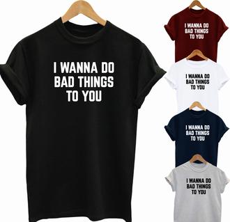 tank top funny t-shirt fifty shades of grey slogan t-shirts