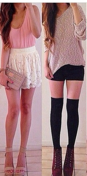 cute lovely skirt lace want want want