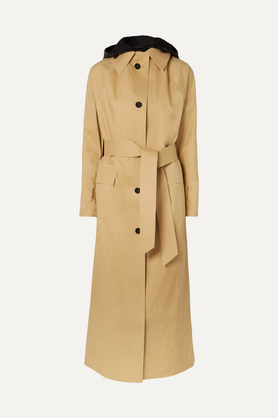 Kassl Editions - Cotton-blend shell trench coat