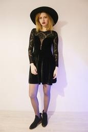 kristina magdalina,blogger,dress,hat,shoes