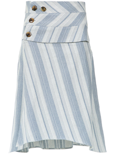 Lilly Sarti skirt midi skirt women midi cotton blue