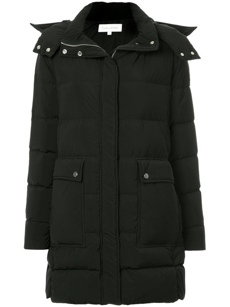 Ck Calvin Klein coat women black