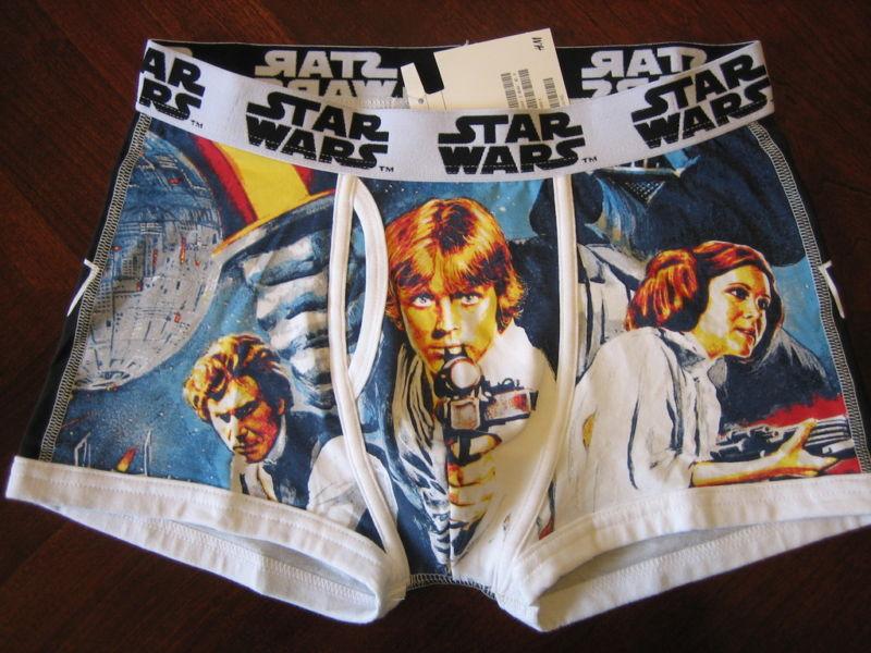 H&m star wars boxer brief men's underwear new small s