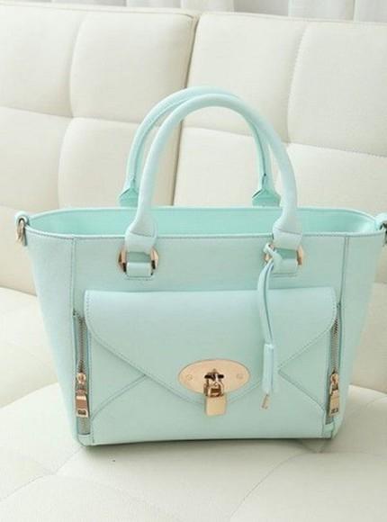 bag handbag pastel