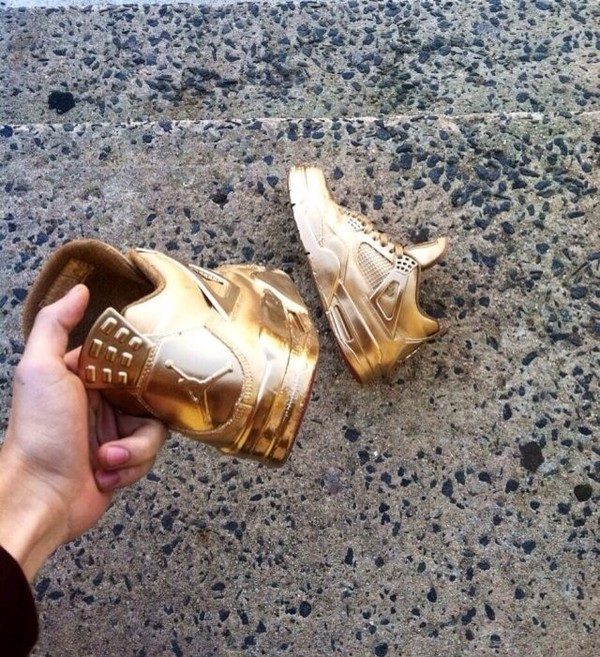 shoes gold air jordan nike