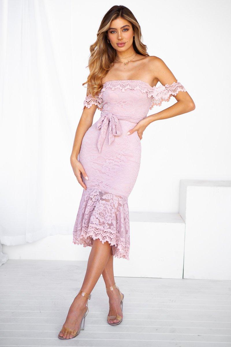 Love Story Dress (Mauve)