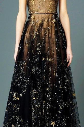 dress beautiful stars galaxy