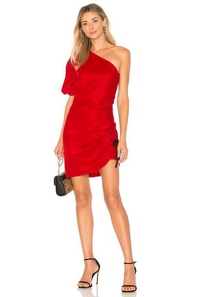 Petersyn dress red