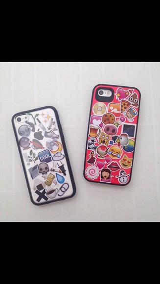 phone case iphone case emoji print