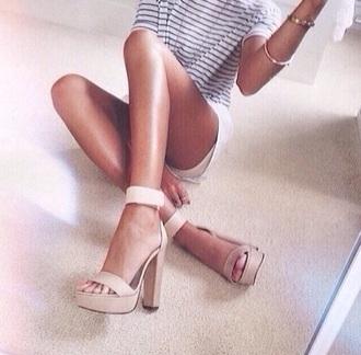 shoes heels nude high heels high heels
