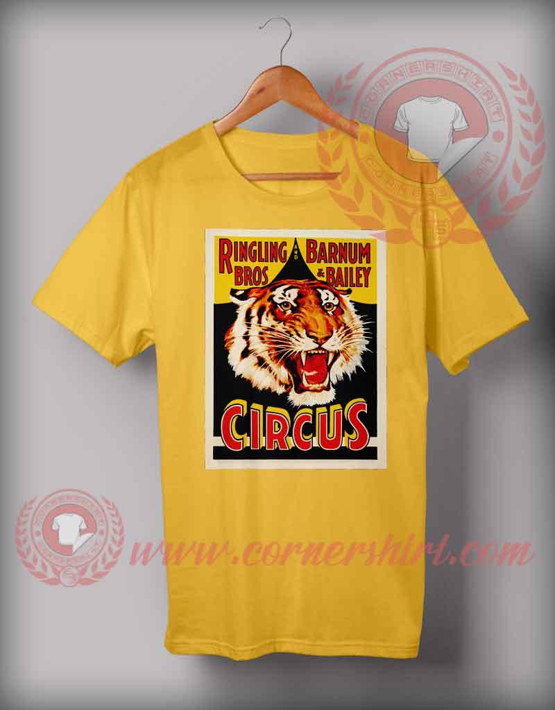 Ringling And Barnum Circus T Shirt Custom Design T Shirts