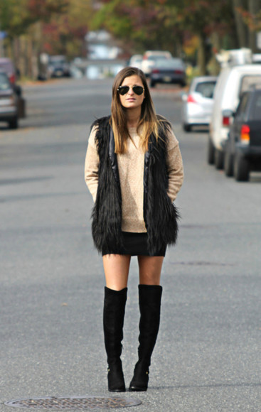blogger mini skirt jacket to be bright fluffy sweater