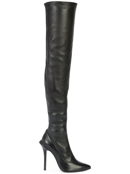 Roberto Cavalli women black shoes