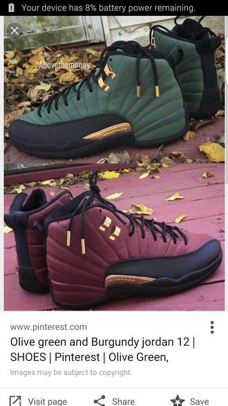 shoes high top sneakers burgundy sneakers jordans
