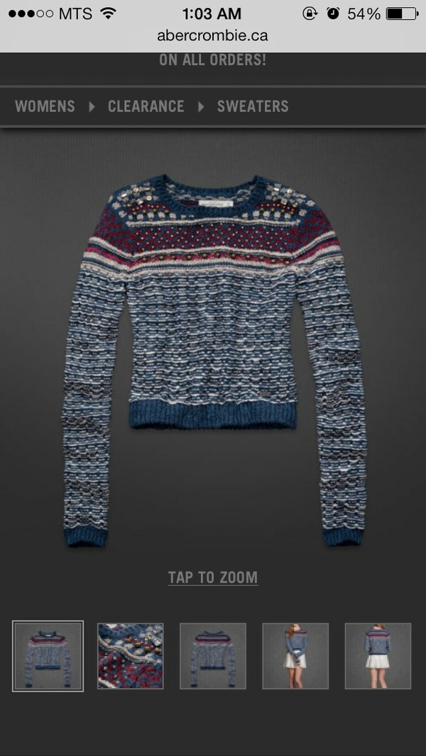 sweater abercrombie sweater