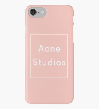 phone cover acne studios pink
