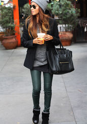 sincerely jules,sweater,jeans,jacket,t-shirt,bag,hat,outfit,pants