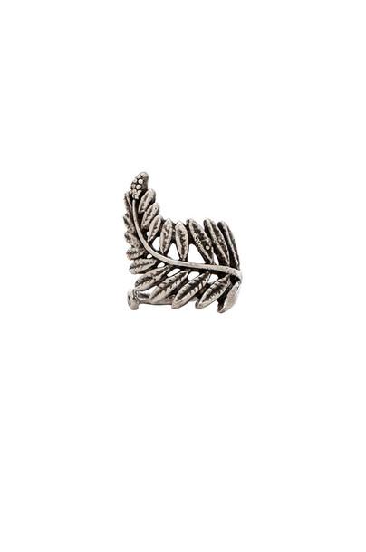Natalie B Jewelry ring metallic silver