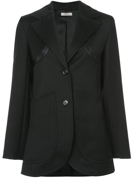 NINA RICCI jacket women black wool