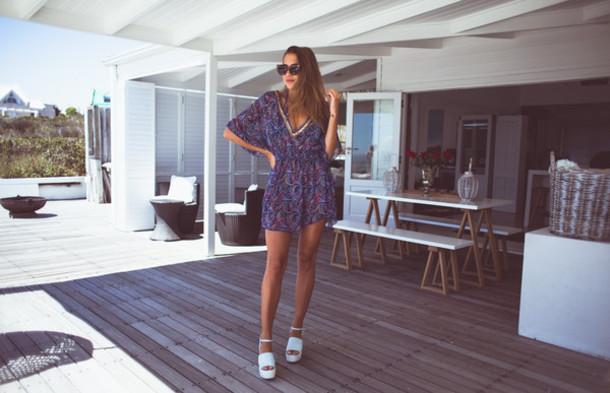 a990507a0dc kenza, blogger, shoes, romper, flatform sandals - Wheretoget