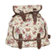 Faux leather trim printed backpack | shop junior clothing at wet seal