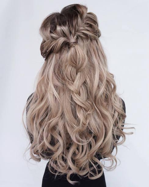 Hair Accessory Braid Tumblr Hair Hairstyles Long Hair