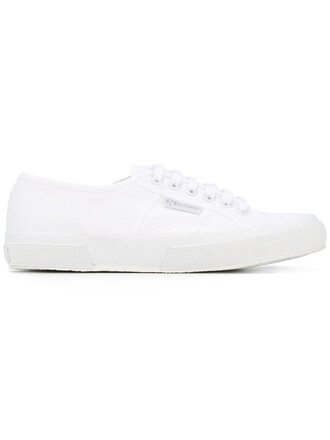 women classic sneakers lace white cotton shoes