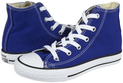 Converse Chuck Taylor All Star Hi Tops (Tod/Yth) - Radio Blue