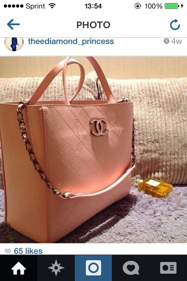 bag cute pink bag adorable chanel sassy, lol, badass, amazing, flawless, omg, need this, big purse