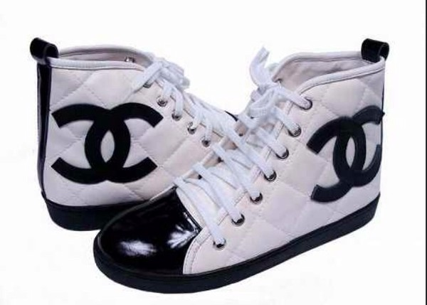 shoes chanel sporty wavy swag sneakers haute