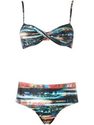 bikini bandeau bikini women spandex swimwear