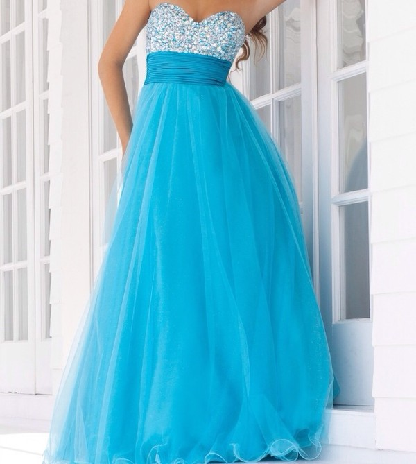 dress blue dress one shoulder sparkle