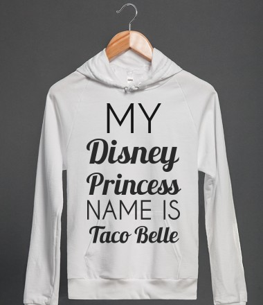 Taco princess (sweatshirt)