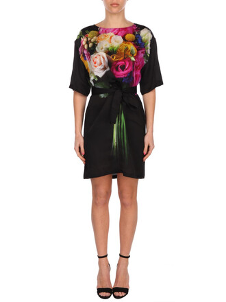 dress black multicolor