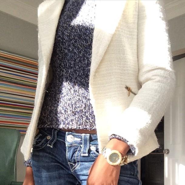 sweater zara coat blazer true religion jeans style