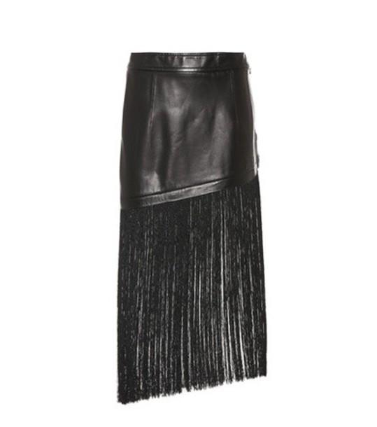 Helmut Lang miniskirt black skirt
