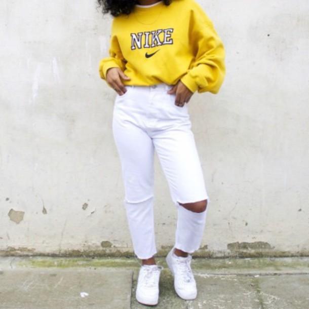 Nike Sweatshirt , Large