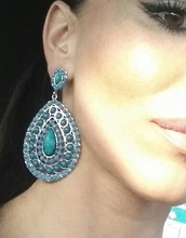 jewels,turquoise jewelry,earings,fashion,dressup